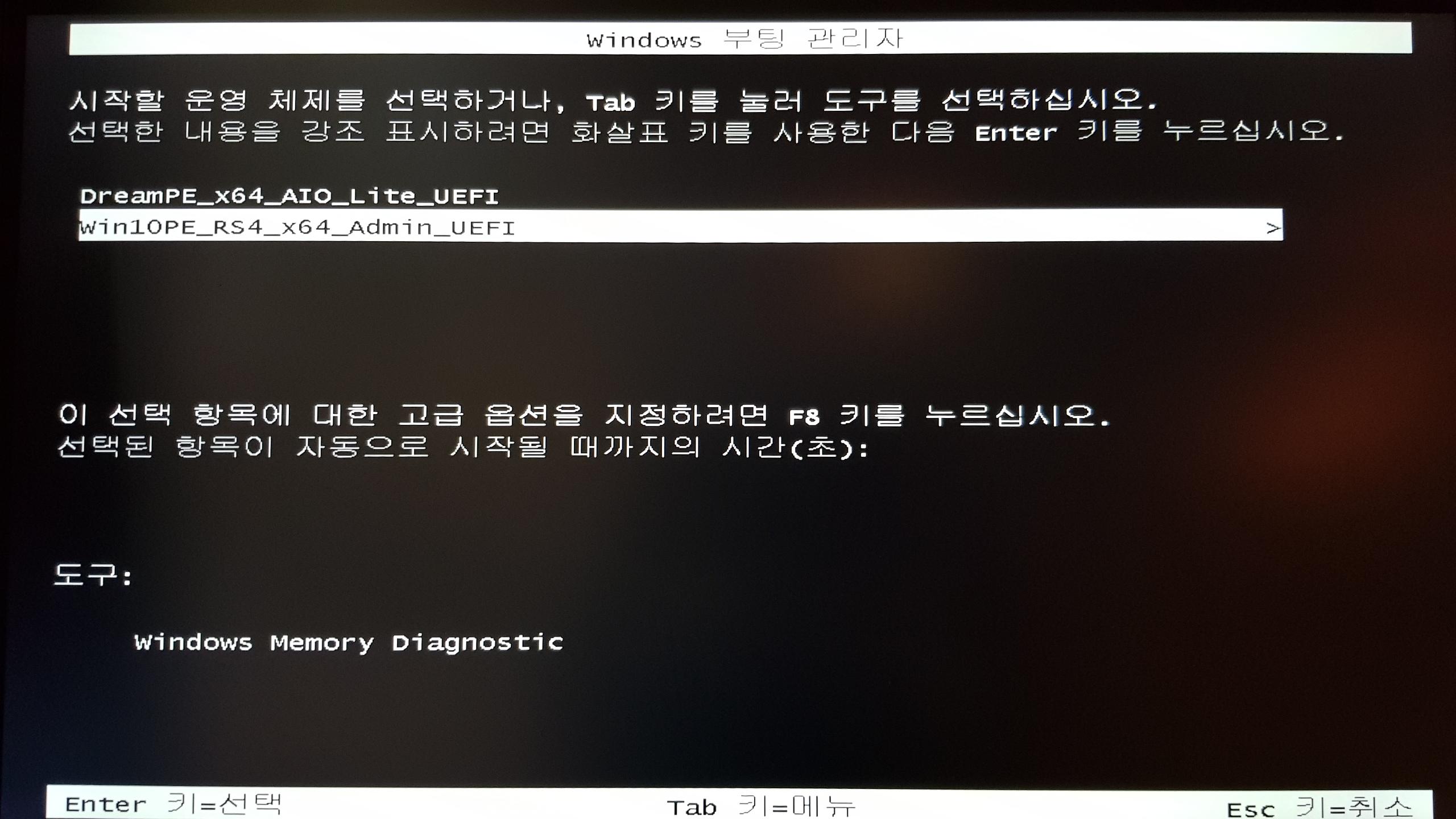 UEFI 부팅 시 선택화면.jpg